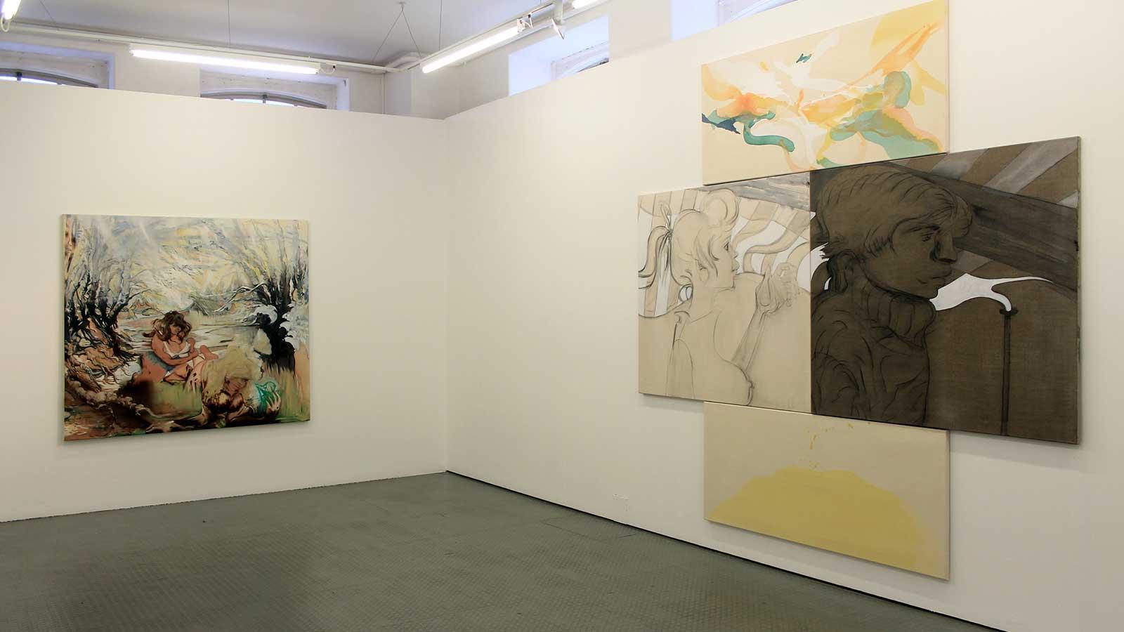 A photograph from Hannah Murgatroyd's exhibition.