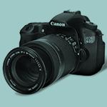 The Canon 60D camera.