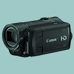 The canon HF 10 camera.