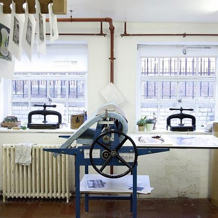 double elephant print studio press