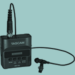 A tascam microphone.