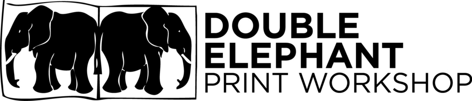 Double Elephant Print Workshop's logo.