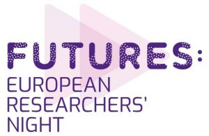 A logo reading: Futures, European researchers night