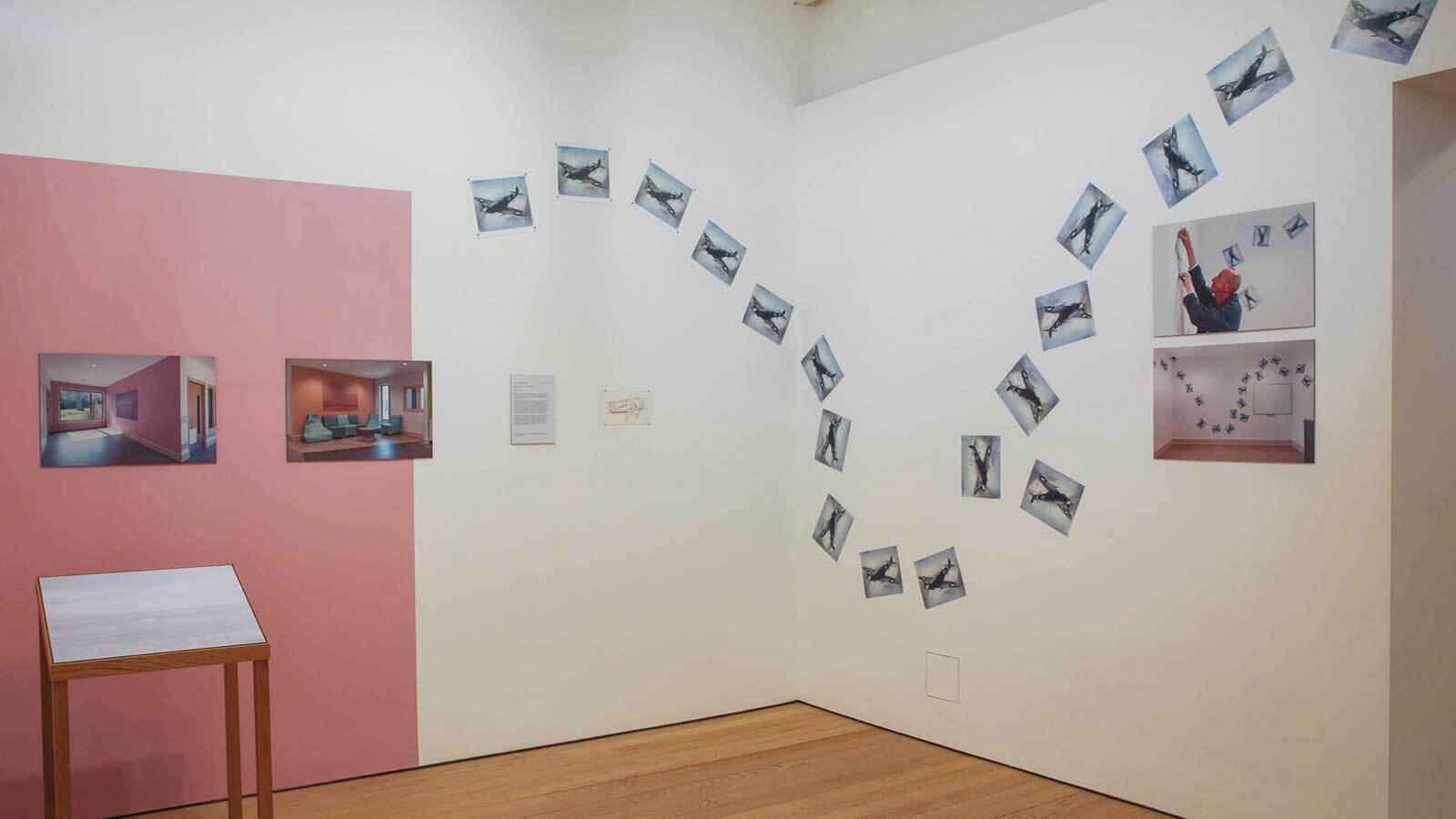 Photograph of hospital rooms exhibition at exeter phoenix