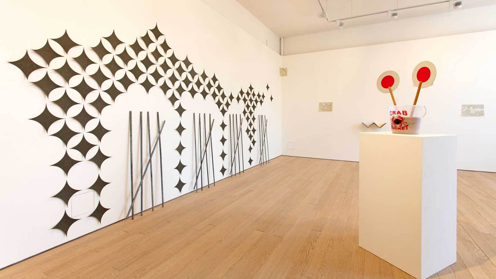 Photograph of Nicky Hirst exhibition at Exeter Phoenix