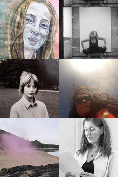 A collection of 6 images featuring the faces of Cine Sisters members.