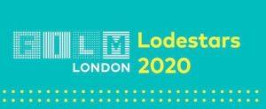 A logo that reads: Film London, Lodestars 2020.